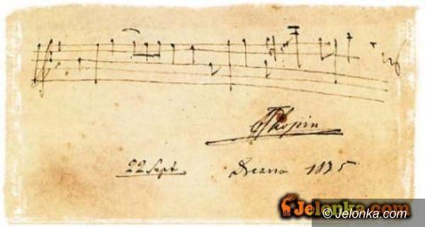 Jelenia Góra: Niebieskie Migdały Fryderyka Chopina – jutro
