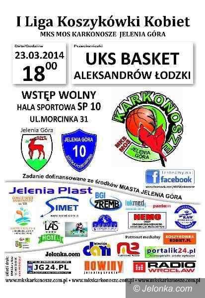 I-liga koszykarek: MKS MOS Karkonosze przed ogromną szansą