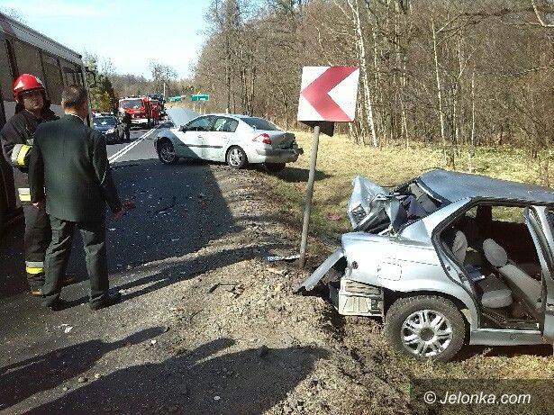 powiat lwówecki: Radny poszkodowany w wypadku