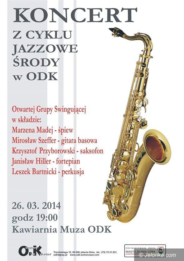 Jelenia Góra: Jazzowa środa z Otwartą Grupą Swingującą