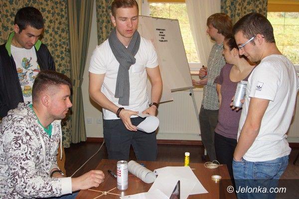 "Karpacz: Studenci na warsztatach ""Cross Cultural Training"""