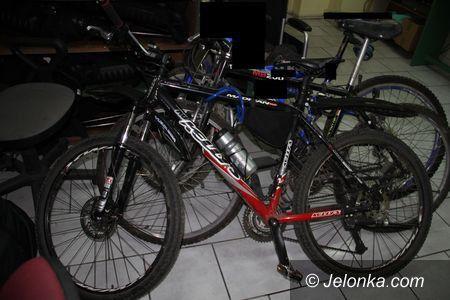 Jelenia Góra: Zatrzymany z rowerami