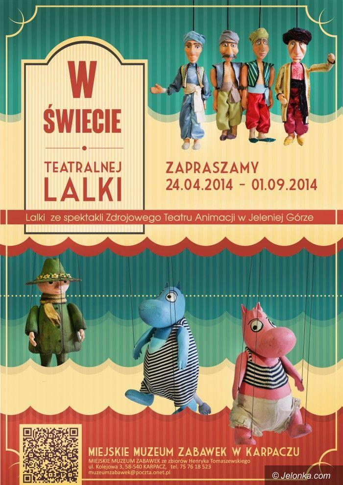 Karpacz: Lalki teatralne w Muzeum Zabawek