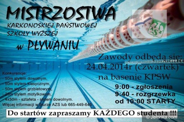 Jelenia Góra: Pływackie mistrzostwa w KPSW