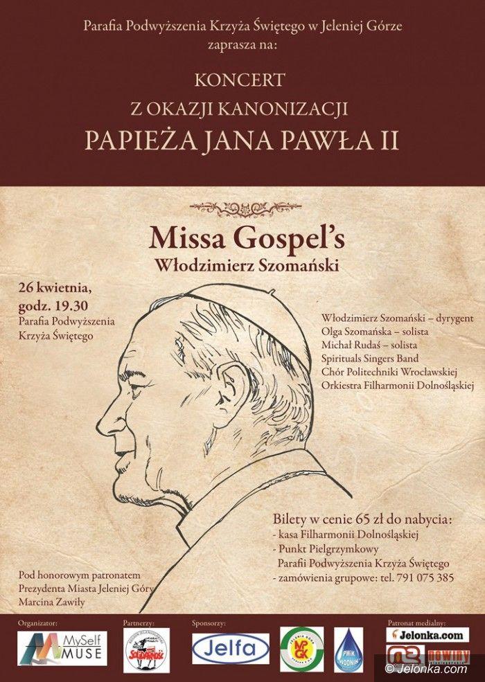 Jelenia Góra: Missa Gospel's w Kościele Łaski już dziś