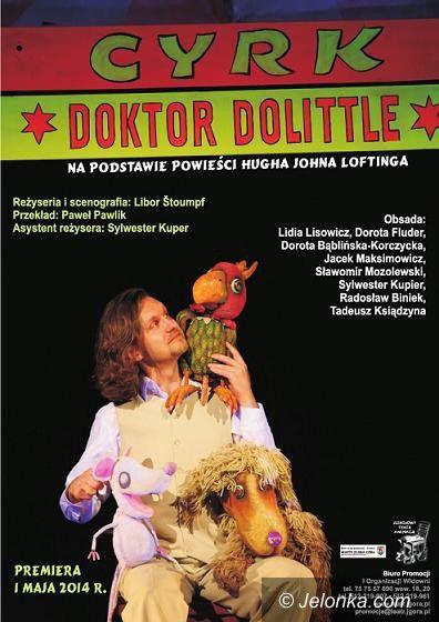 """Jelenia Góra: Po premierze """"Cyrku Doktora Dolittle"""""""