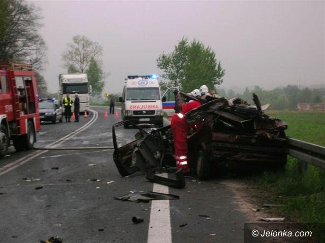 Region: Czołówka vw z ciężarówką. Nie żyje 21–latka