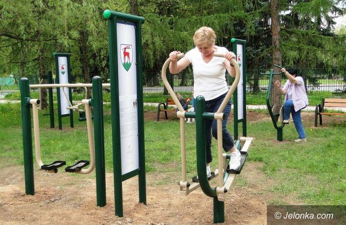 Jelenia Góra: Mieszkańcy urządzili sobie park z siłownią