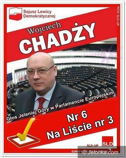 Jelenia Góra: Wojciech Chadży: kurs na Brukselę