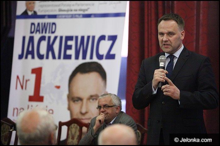 Jelenia Góra: Dawid Jackiewicz: Głosujcie, to ważne wybory
