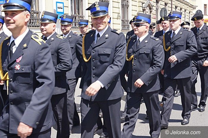 Jelenia Góra: Nasi strażacy świętowali