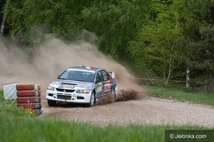 Łotwa: Jeleniogórski rajdowiec wystartował na Łotwie