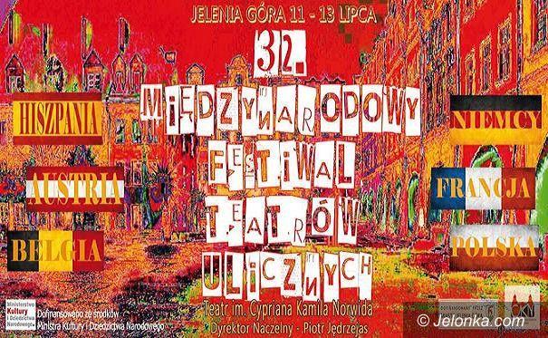 Jelenia Góra: W lipcu startuje Międzynarodowy Festiwal Teatrów Ulicznych