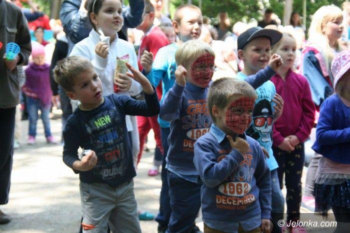 Jelenia Góra: Wspaniałe święto dzieci w Parku Zdrojowym