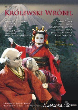 """Jelenia Góra: Premiera """"Królewskiego wróbla"""" w Teatrze Animacji"""