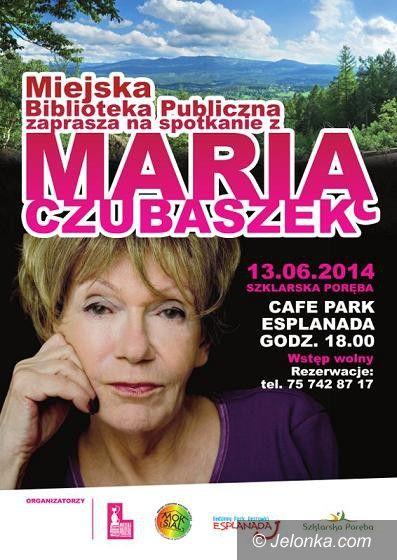 Szklarska Poręba: Spotkanie z Marią Czubaszek pod Szrenicą