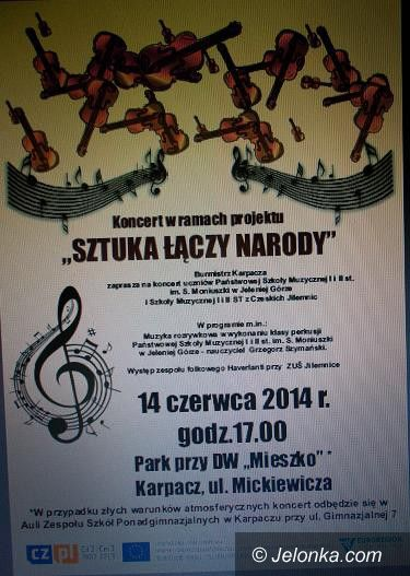 """Karpacz: Koncert w ramach """"Sztuka łączy narody"""" w Karpaczu"""