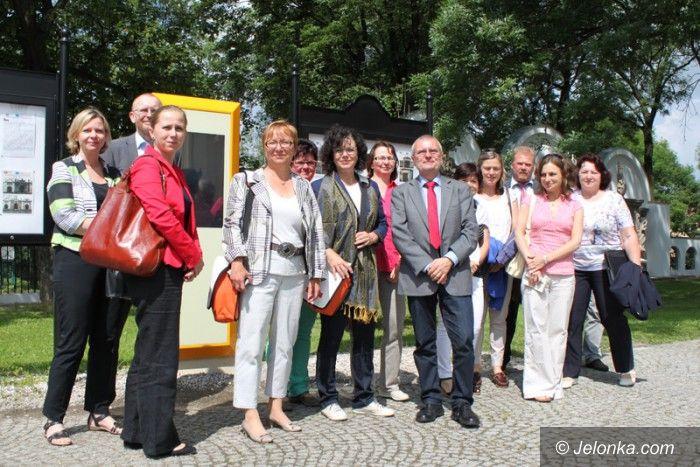 Jelenia Góra: Wymiana edukacyjnych doświadczeń z Saksonią