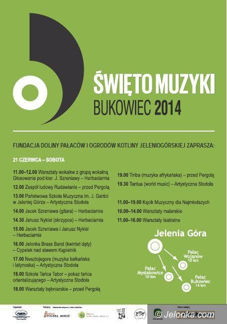 Jelenia Góra: Wkrótce po raz drugi Święto Muzyki w Bukowcu
