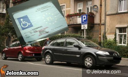Jelenia Góra/Kraj: Karty parkingowe dla niepełnosprawnych po nowemu