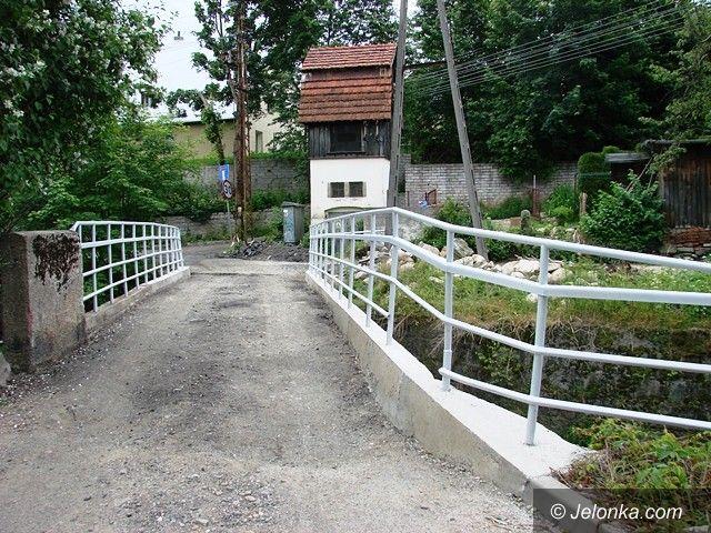 Jelenia Góra/Sobieszów: Trwa remont mostów w Sobieszowie