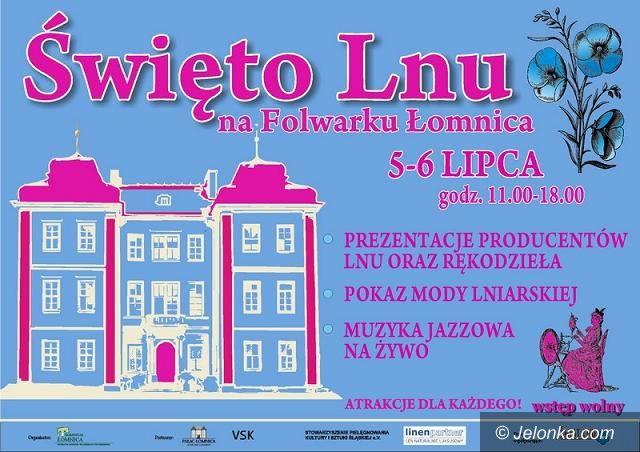 Region: Lniane święto w Łomnicy