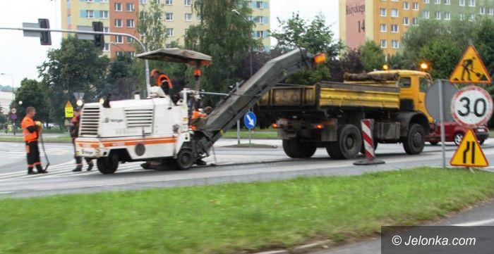 Jelenia Góra: Uciążliwy remont skrzyżowania w centrum na finiszu