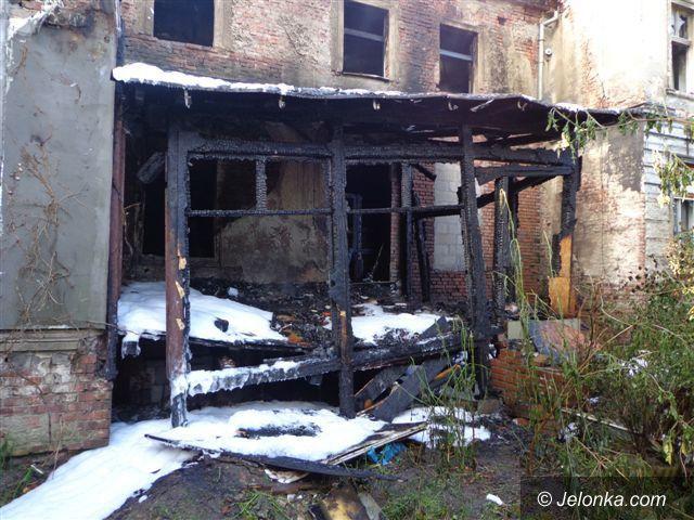 Jelenia Góra: Płonął miejski pustostan przy Kilińskiego