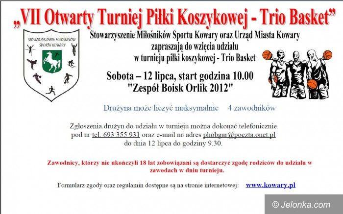 Kowary: Zapraszamy na VII Otwarty Turniej Koszykówki w Kowarach