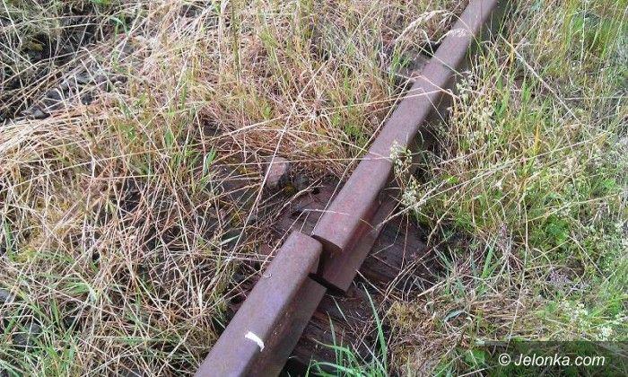 Region: Zuchwała kradzież kolejowych szyn