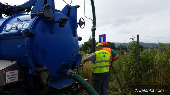 Jelenia Góra: Awaria sieci na Zabobrzu – mogą być problemy z wodą
