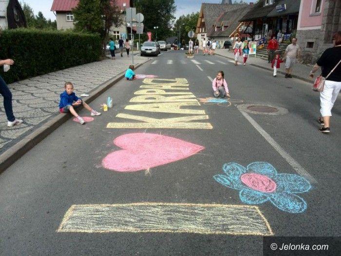 Karpacz: Jutro wielkie malowanie deptaka w Karpaczu