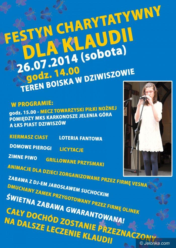 Jelenia Góra: Koncert charytatywny dla Klaudii w Dziwiszowie