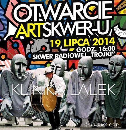 Szklarska Poręba: Teatr Klinika Lalek na ArtSkwerze 2014