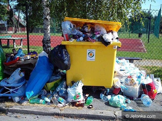 Jelenia Góra: Zamiast śmietnika… śmietnisko
