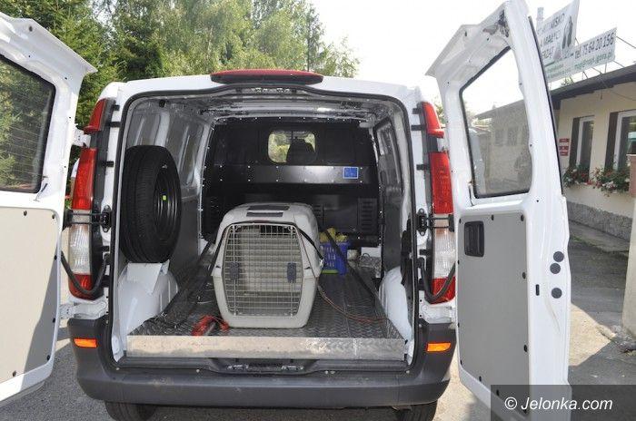Jelenia Góra: Nowy samochód dla schroniska