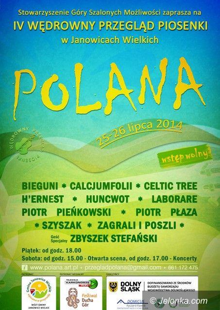 Region: Rozśpiewana Polana w Janowicach Wielkich – od jutra