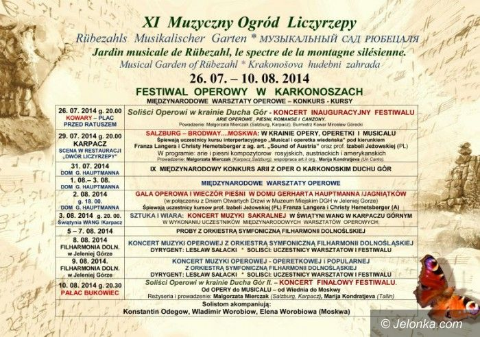 Region: Festiwal Operowy w Karkonoszach  – od jutra