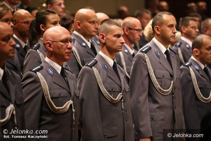 Jelenia Góra: Jeleniogórscy policjanci obchodzili swoje święto