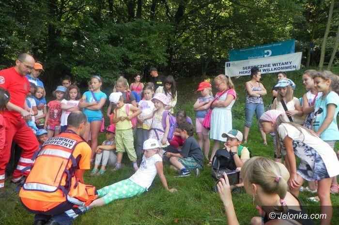 Jelenia Góra: Uczyli dzieci jak przetrwać w lesie