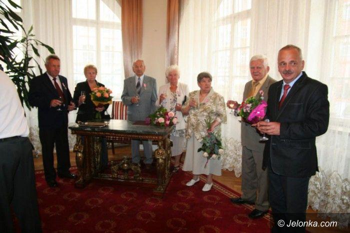 Jelenia Góra: Wrócili do sali ślubów po 50 latach
