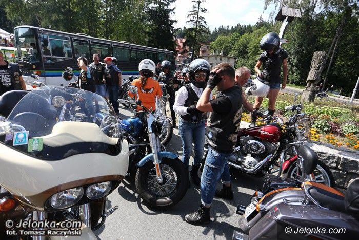 Karpacz: Wielka parada motocykli na ulicach Karpacza