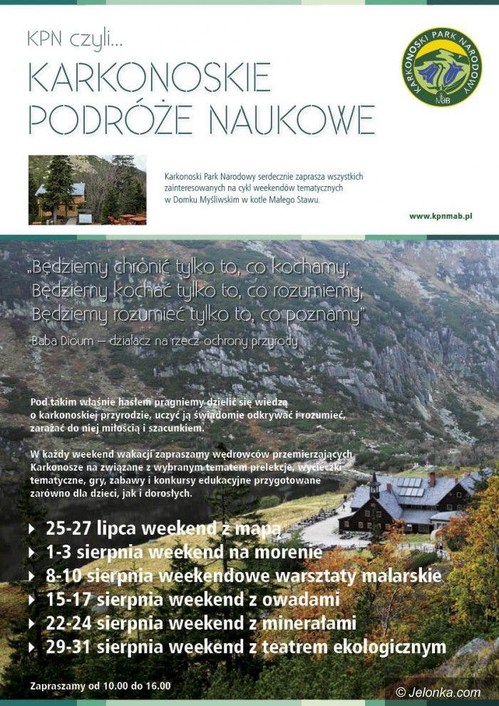 Region: Wakacje z przyrodą na szlakach Karkonoszy
