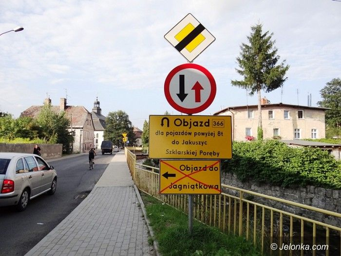 Jelenia Góra: Ulica Karkonoska zamknięta do końca sierpnia (aktualizacja)
