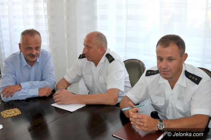 Jelenia Góra: Strażacy z prezydentem o sukcesach i szansach