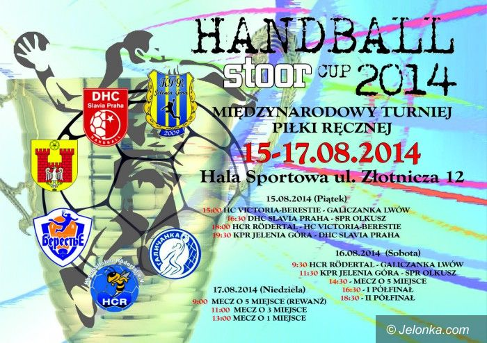 Jelenia  Góra: Kolejne zmiany w Handball Stoor Cup 2014