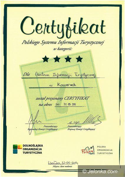 Kowary: Kowarska Informacja Turystyczna z certyfikatem
