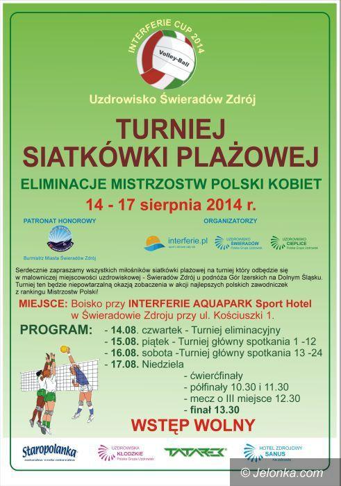 Świeradów-Zdrój: Turniej plażówki w Świeradowie–Zdrój