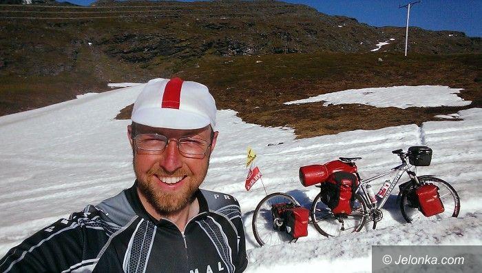 Jelenia Góra/Skandynawia: Damian Drobyk przemierzył rowerem Skandynawię