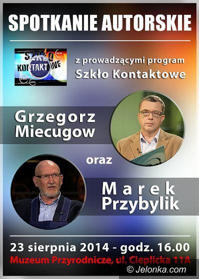 """Jelenia Góra: """"Szkło kontaktowe"""" na żywo z Cieplic"""